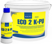 2 компонентный клей для паркета полиуретановый Kiilto ECO 2KPU Килто