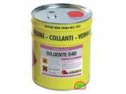 Diluente D40/D21 Растворитель для грунтовки Primer PA400 Adesiv Адезив 10 л
