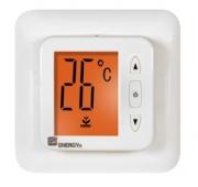 Терморегулятор для теплого пола купить цена спб Energy TK02 встраеваемый