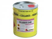 Diluente D40/D21 Растворитель для грунтовки Primer PA400 Adesiv Адезив 18 л