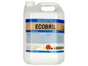 Лак водный без запаха для паркета дерева Adesiv Адезив Ecobril однокомпонентный