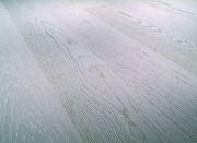 Однополосная Паркетная доска Дуб пастура отбеленная Terhurne планк 2190х162х13мм КликТэк