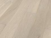 Однополосная Паркетная доска Дуб серовато-белый Terhurne планк 2190х162х13мм мат лак ИзиКлик