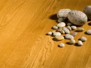 Однополосная Паркетная доска Дуб желто-коричневый состар. Terhurne планк 1180х110х11