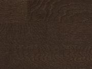Паркетная доска Дуб Karelia Трехполосная dark chocolate шоколад темный
