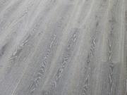 Паркетная доска Дуб Карелия Karelia Импрессио - состаренный stonewashed ivory однополосный 188 мм