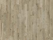 Паркетная доска Дуб Карелия Karelia состаренный stonewashed ivory трехполосный