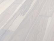 Паркетная доска Ясень бело-голубой Terhurne планк бел. мат лак 2,190х160х13мм ИзиКлик