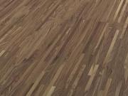 Паркетная доска купить СПб Terhurne Орех американский красно-коричневый мат лак 2390х200х11 ИзиКлик