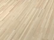 Паркетная доска купить СПб Terhurne  Клен канадский кремово-белый мат лак 2390х200х11 ИзиКлик