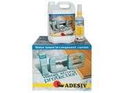 Лак полиуретановый паркетный Adesiv Адезив Ice двухкомпонентный