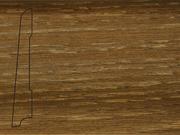 Плинтус Дуб деревянный напольный СПБ шпонированный La San Marco Profili 80/16мм Экспрешен