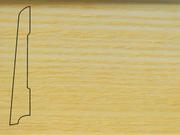 Плинтус Ясень деревянный напольный СПБ шпонированный La San Marco Profili 80/16мм