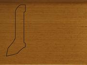 Плинтус деревянный напольный СПБ шпонированный La San Marco Profili 60/22мм Афромозия