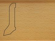 Плинтус деревянный напольный СПБ шпонированный La San Marco Profili 60/22мм Бук Пропаренный