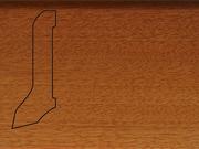 Плинтус деревянный напольный СПБ шпонированный La San Marco Profili 60/22мм Дуссия