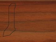 Плинтус деревянный напольный СПБ шпонированный La San Marco Profili 60/22мм Кемпас