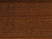 Плинтус деревянный напольный СПБ шпонированный La San Marco Profili 60/22мм Сапели