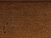 Плинтус деревянный напольный СПБ шпонированный La San Marco Profili 60/22мм Танганика