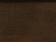 Плинтус деревянный напольный СПБ шпонированный La San Marco Profili 60/22мм Танганика Орех