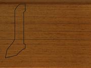 Плинтус деревянный напольный СПБ шпонированный La San Marco Profili 60/22мм Тик