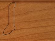 Плинтус деревянный напольный СПБ шпонированный La San Marco Profili 60/22мм Вишня