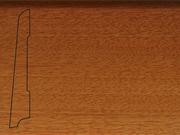 Плинтус деревянный напольный СПБ шпонированный La San Marco Profili 80/16мм Дуссия
