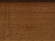 Плинтус деревянный напольный СПБ шпонированный La San Marco Profili 80/16мм Ироко