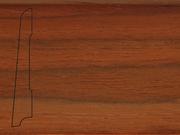 Плинтус деревянный напольный СПБ шпонированный La San Marco Profili 80/16мм Кемпас