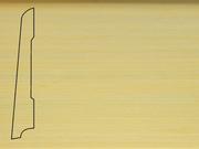 Плинтус деревянный напольный СПБ шпонированный La San Marco Profili 80/16мм Клен