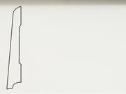 Плинтус деревянный напольный СПБ шпонированный La San Marco Profili 80/16мм Лаккато Белый
