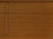 Плинтус деревянный напольный СПБ шпонированный La San Marco Profili 80/16мм Тик