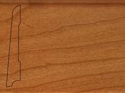 Плинтус деревянный напольный СПБ шпонированный La San Marco Profili 80/16мм Вишня