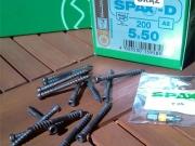 Саморезы Spax шурупы Спакс для террасной доски SPAХ-D 5,0x60 мм