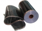 Теплый пол цена инфракрасный электрический пленочный под ламинат купить Q-Term 400 Вт/м2 шир. 0,5 м