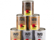 Паркетное масло для паркета  Adesiv Адезив WB OIL тонированное Paviolo 25 1л