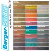 Паркетное Масло тонированное Berger Бергер Classic Base Oil Color глубокого проникновения