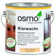 Масло для дерева твердых пород с воском OSMO Klarwachs 1101 Шелковисто-матовое