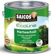 Масло для пола и стен с твердым воском Saicos Ecoline Hartwachsol Германия
