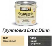 Грунтовка для дерева твердых пород на основе масел Saicos Германия Extra Dunn Grundierol