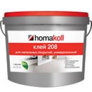 Клей для линолеума Homakoll 208 Хомакол коммерческого цена купить 4 кг