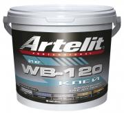 Однокомпонентный клей для паркета Artelit WB-120 Артелит дисперсионный 12кг