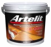 Двухкомпонентный клей для паркета полиуретановый Artelit PB-140R цена 10кг