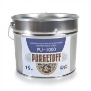 Клей Паркетофф однокомпонентный спб Parketoff PU 1000 для паркета