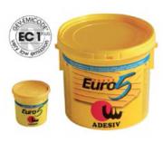 Клей для паркета полиуретановый двухкомпонентный Adesiv Адезив Euro 5