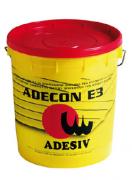 Клей для паркета водный дисперсионный Adesiv Адезив Adecon E3 однокомпонентный